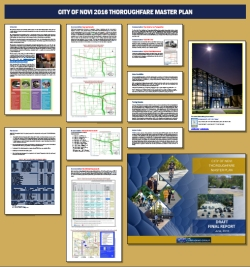 Thoroughfare Master Plan Poster