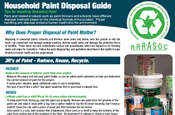Paint Disposal Flyer