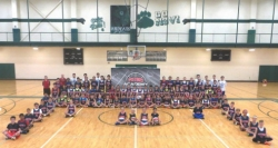 Basketball Camp participants