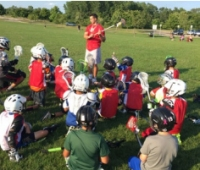 Lacrosse Camp participants