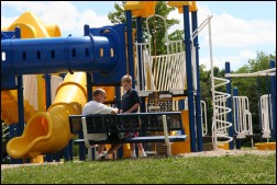 Playscape at Lakeshore Park