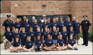 2011 Youth Police & Fire Leadership Academy Graduates