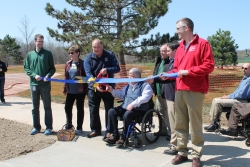 Power Park Adaptive Playground Ribbon Cutting