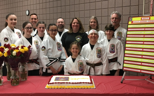 Family Self Defense Center students